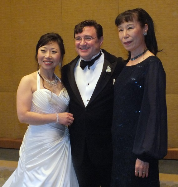 20130601 Jimin, Hal, Jimin's mother