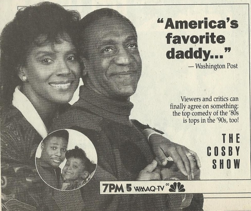 Cosby Show Ad Chicago TV Guide February 17-23, 1990 001