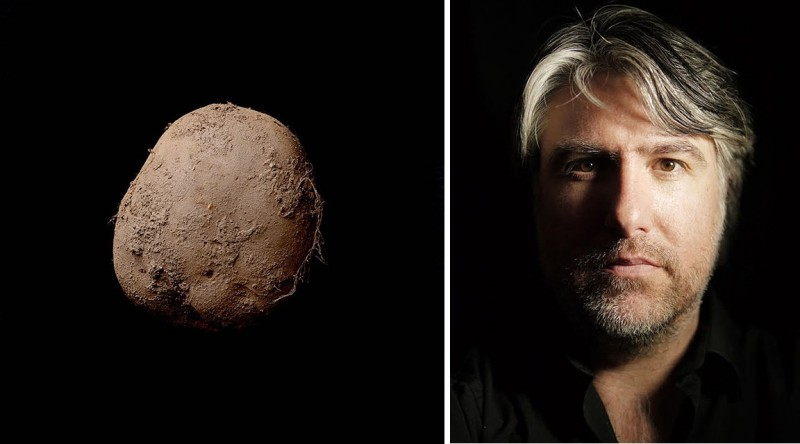 Фото картошки за миллион долларов