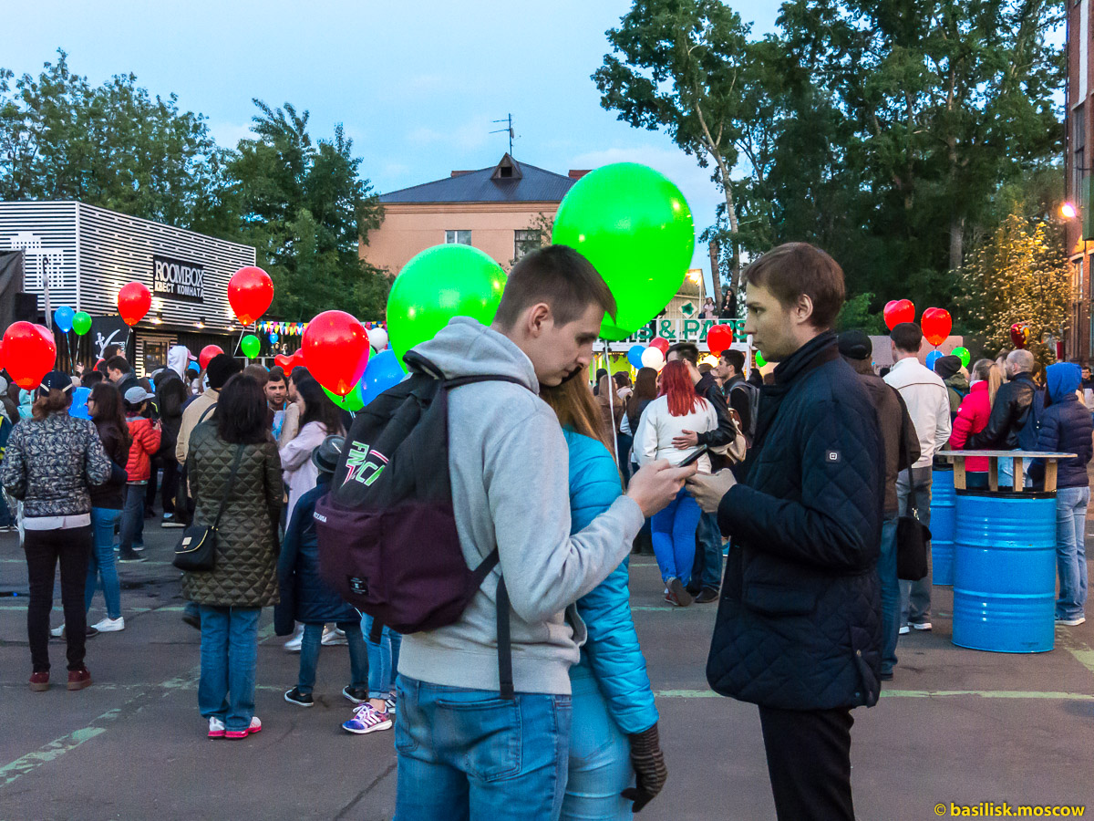 Фестиваль Светошариков. Дизайн-завод Флакон. Москва. 2 июня 2017