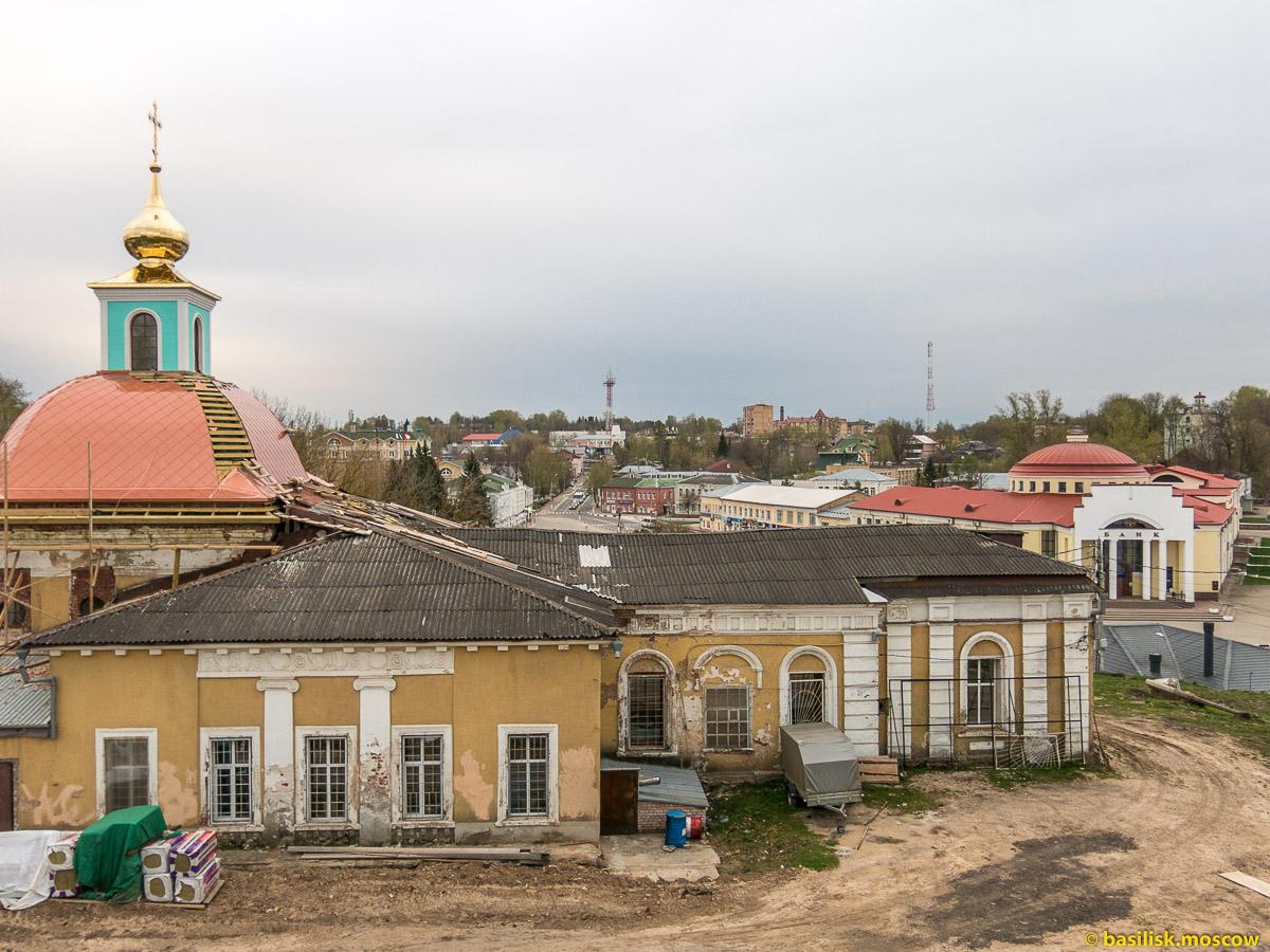 Волоколамск. Город. Кремль. Московская область. Май 2017