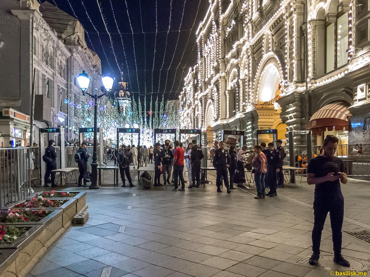 Красная площадь. Москва. 7 июля 2018