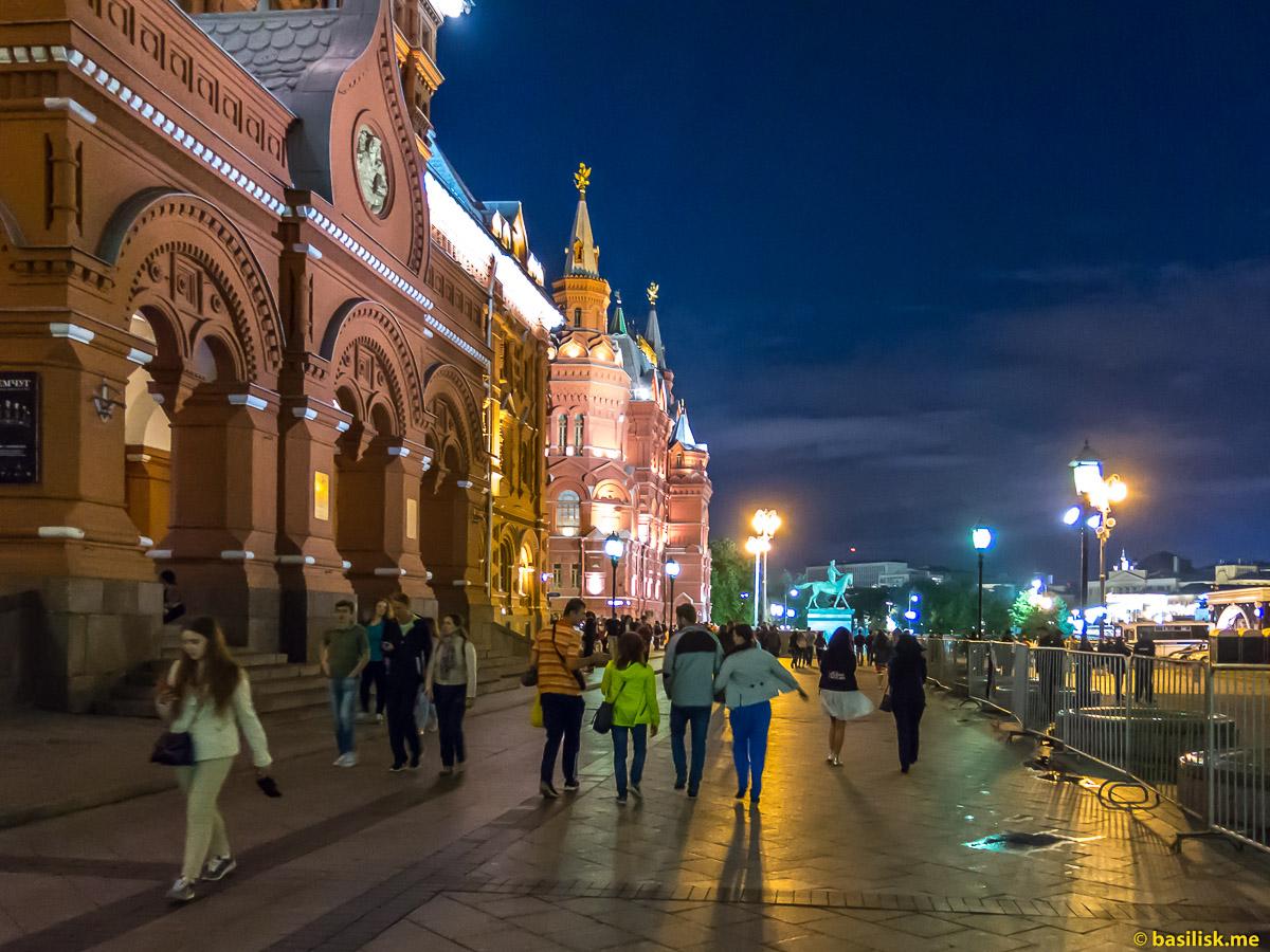 Площадь Революции. Москва. 7 июля 2018