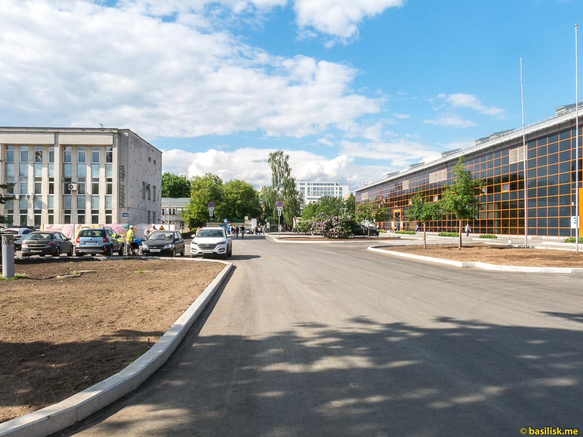 Северный проезд. Стройка и реконструкция на ВДНХ. Москва. Май 2018