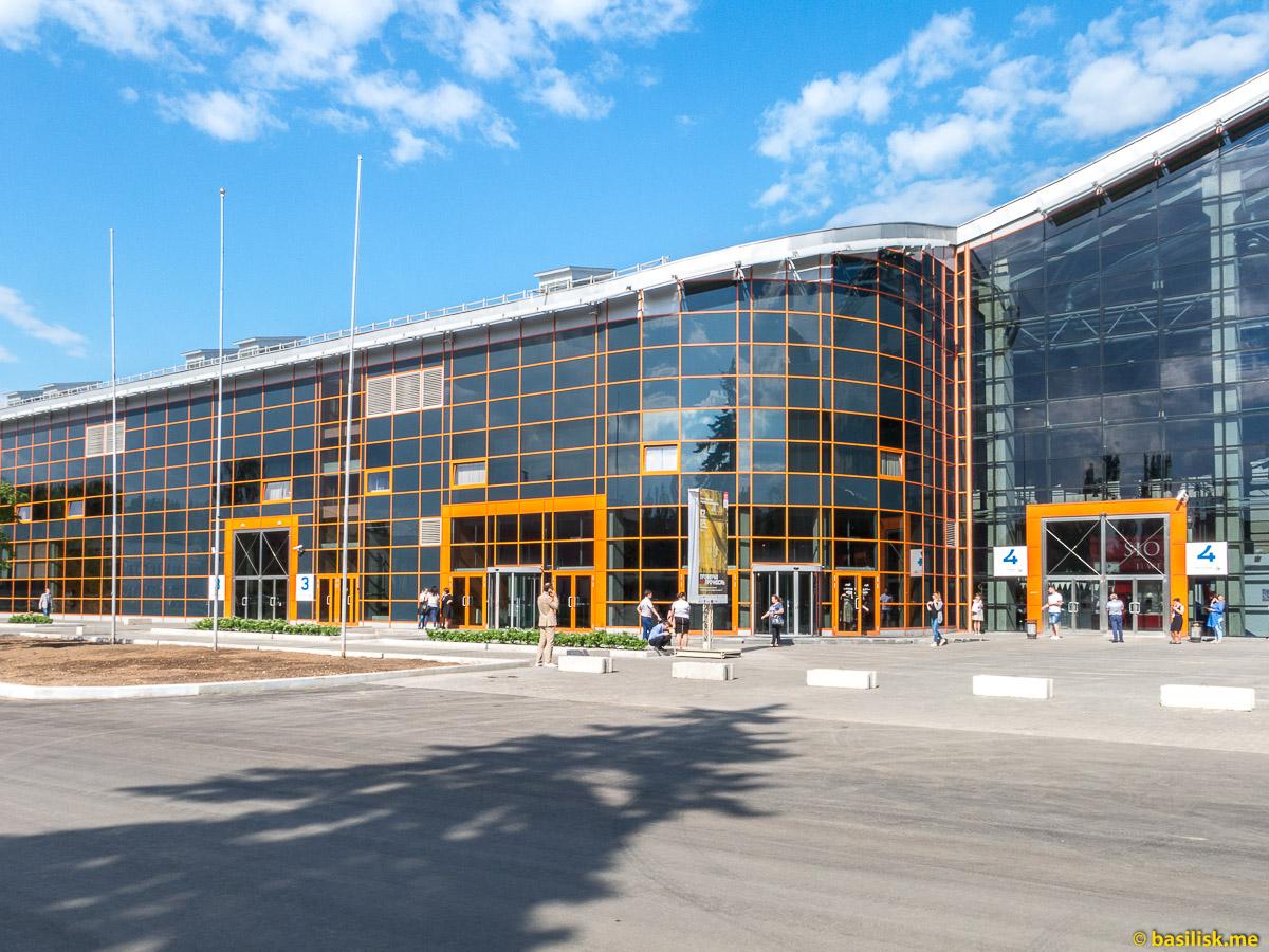 ВДНХ-Экспо. Стройка и реконструкция на ВДНХ. Москва. Май 2018