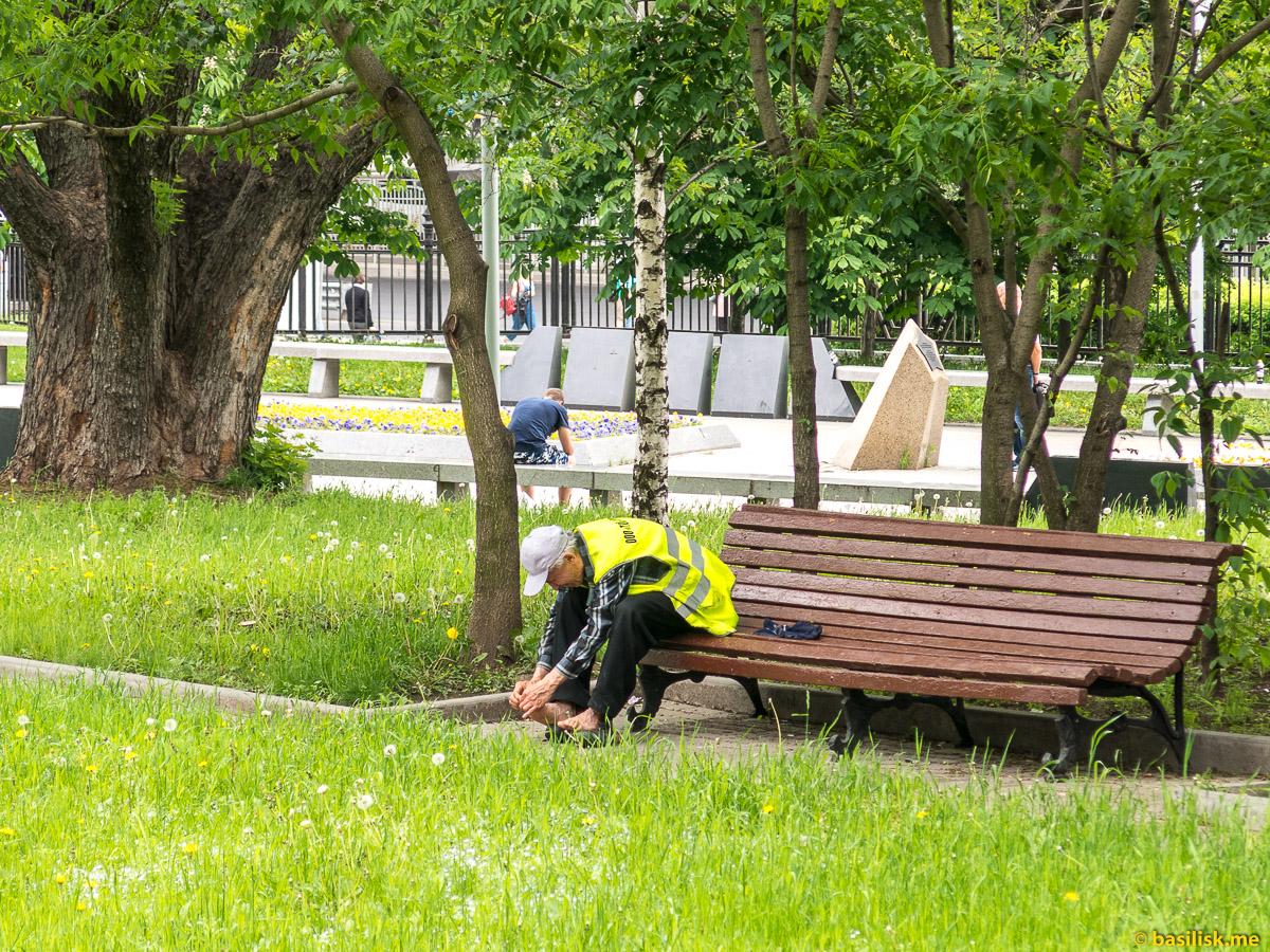 Парк и аллея Космонавтов. Москва. Май 2018
