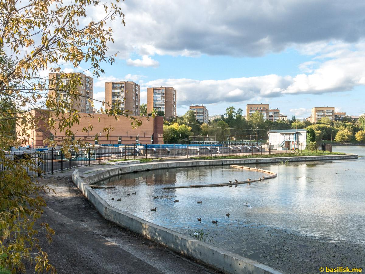 Кожуховский пруд. Москва. Август 2018