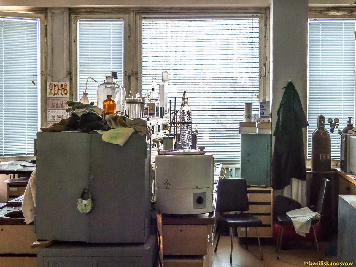Московский институт тонкой химической технологии МИТХТ на Юго-Западной. Москва. Апрель 2018
