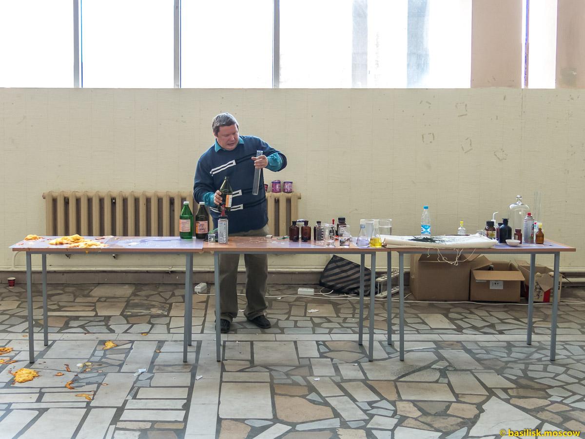 День открытых дверей в московском институте тонкой химической технологии МИТХТ на Юго-Западной. Москва. Апрель 2018