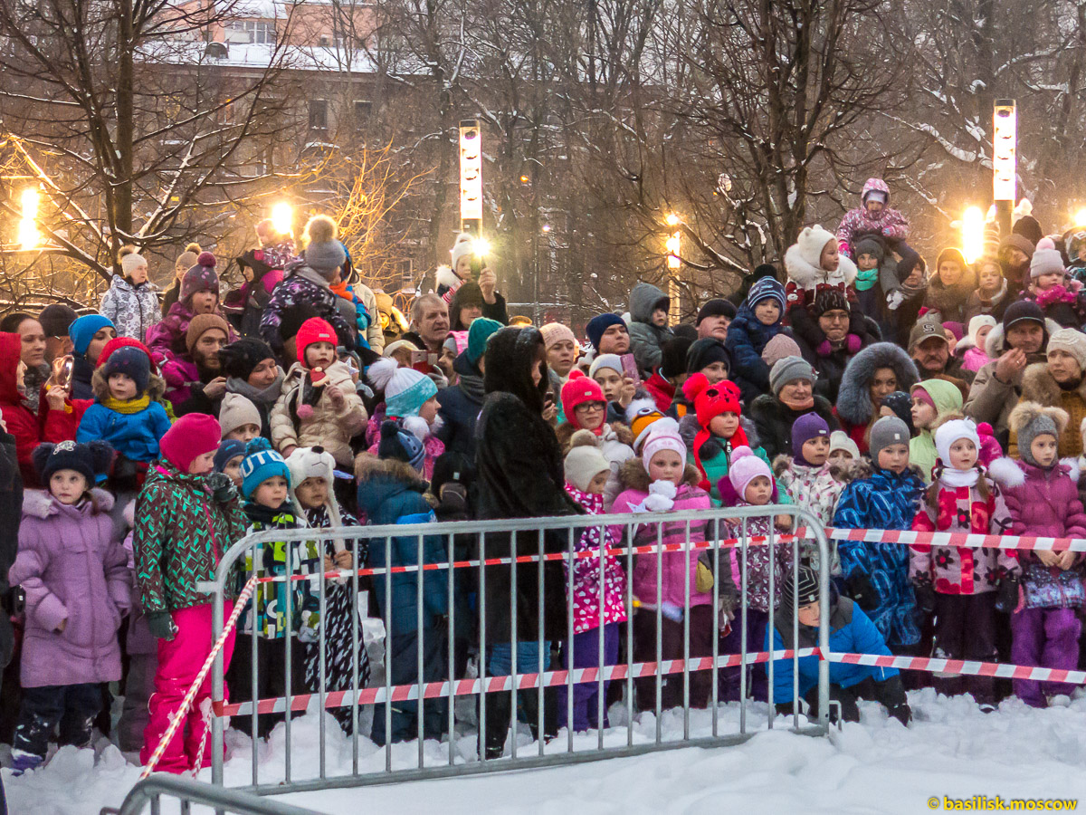Масленица в Гончаровском парке. Москва. 18 февраля 2018