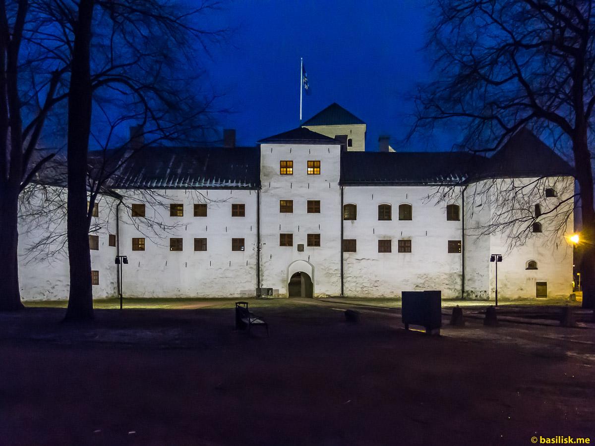 Замок Турку Turunlinna. Turku. Январь 2018