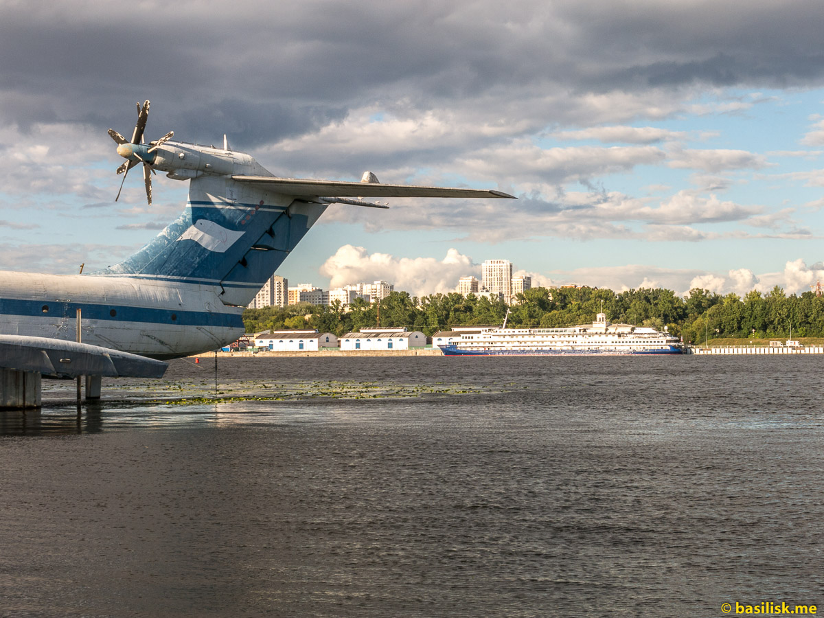 Химкинское водохранилище. Москва. Август 2018