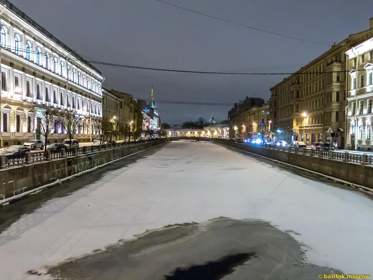 Прогулка по зимнему Петербургу. Январь 2018