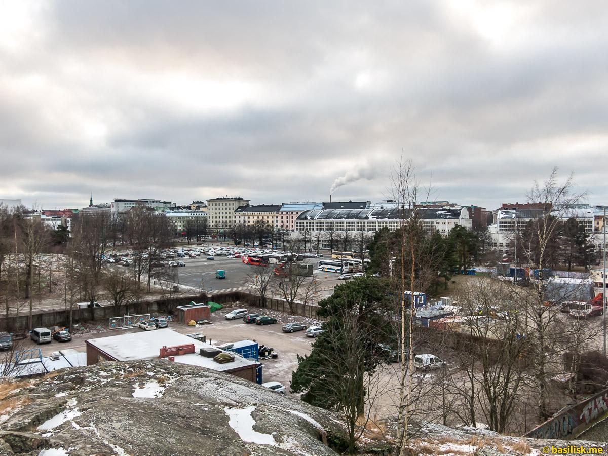 Олимпийский стадион Хельсинки на реконструкции. Январь 2018