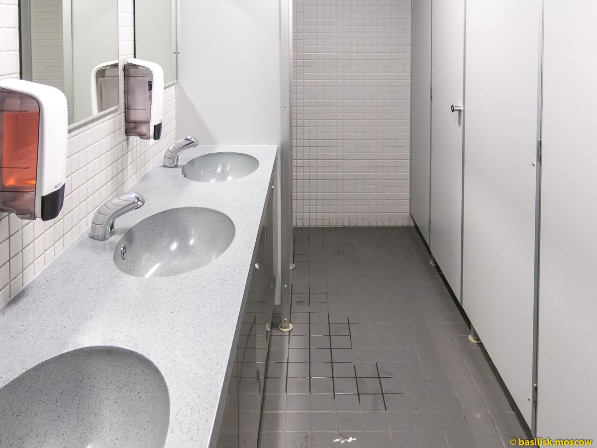 Туалет. Ваалимаа. Торфяновка. Январь 2018