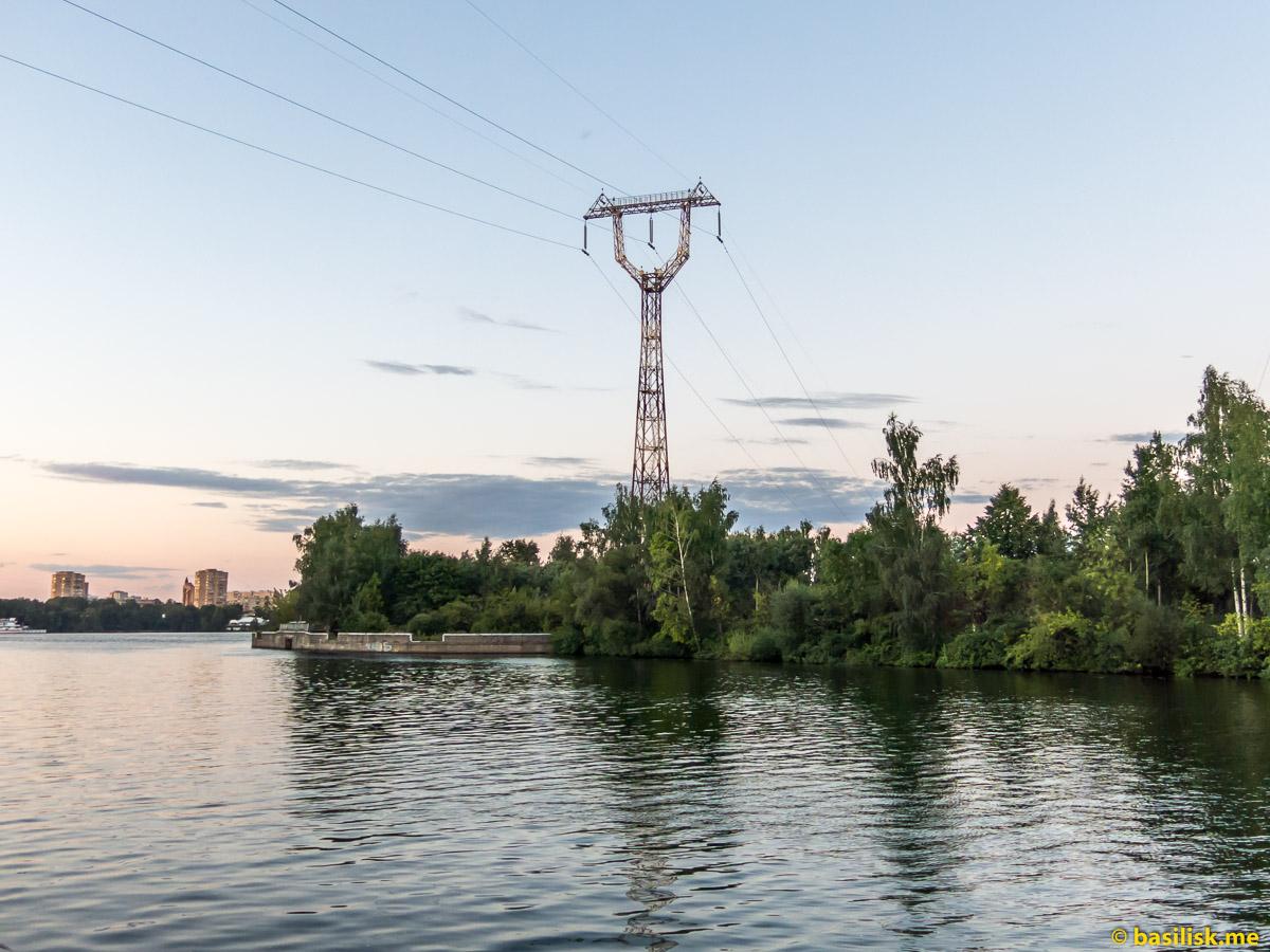 Сходненский деривационный канал. Москва. Август 2018