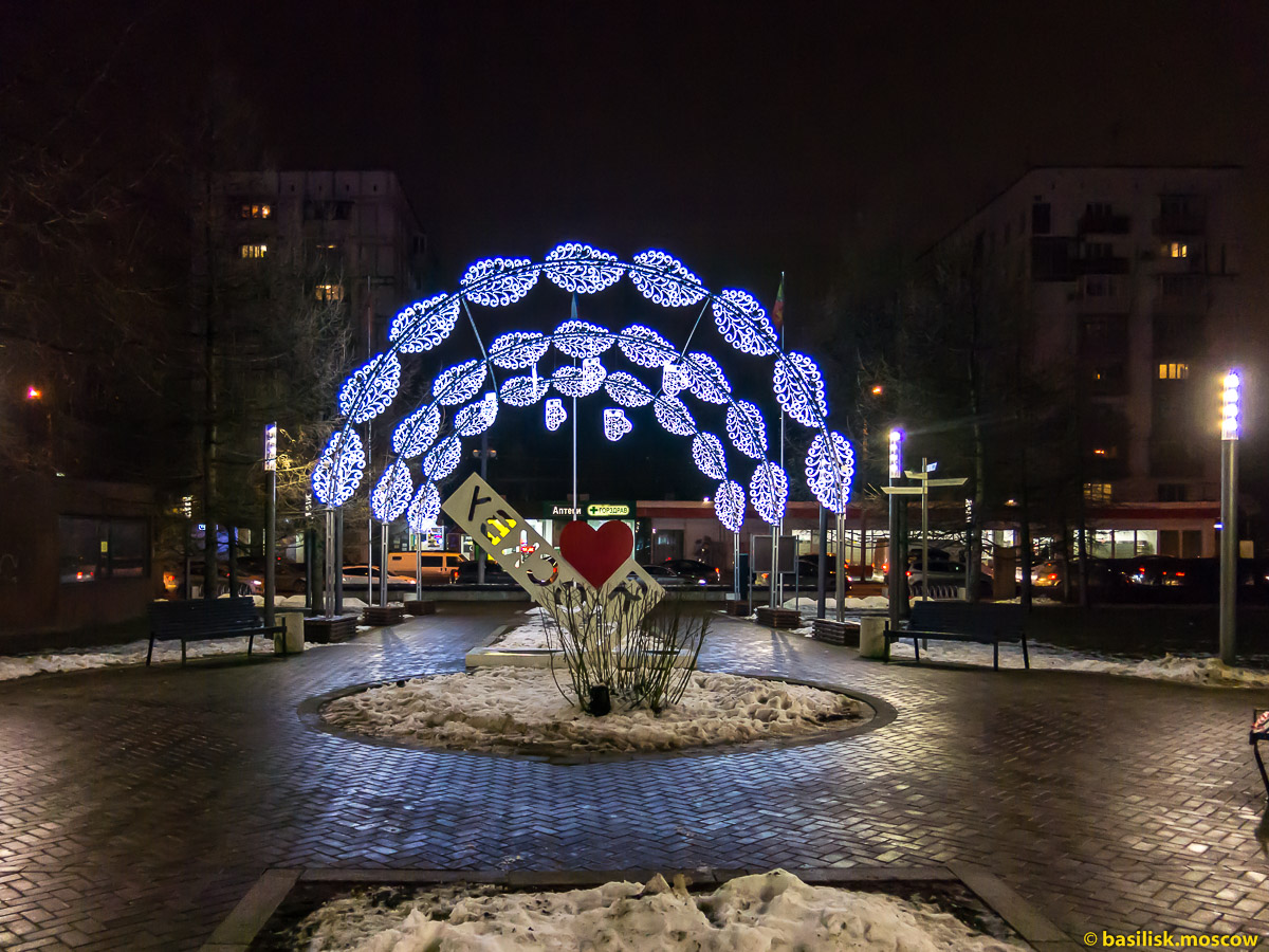 Гончаровский парк. Новогодняя Москва. Декабрь 2017