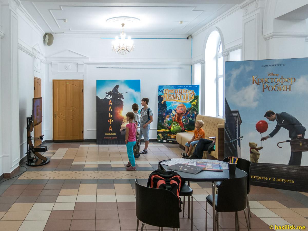 Детский кинотеатр Полёт. Тушино. Москва. Август 2018