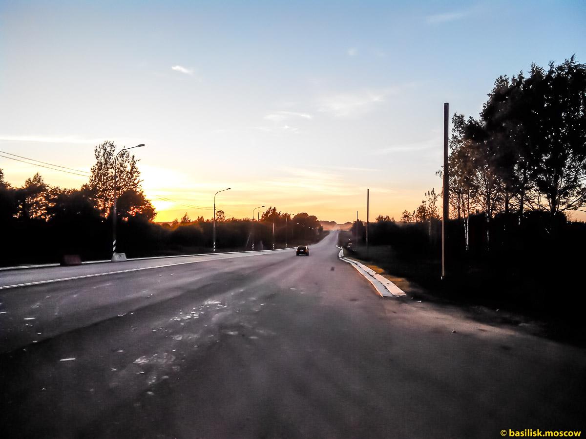 Дорога в Петербург. Разруха. Валдай. Август 2017