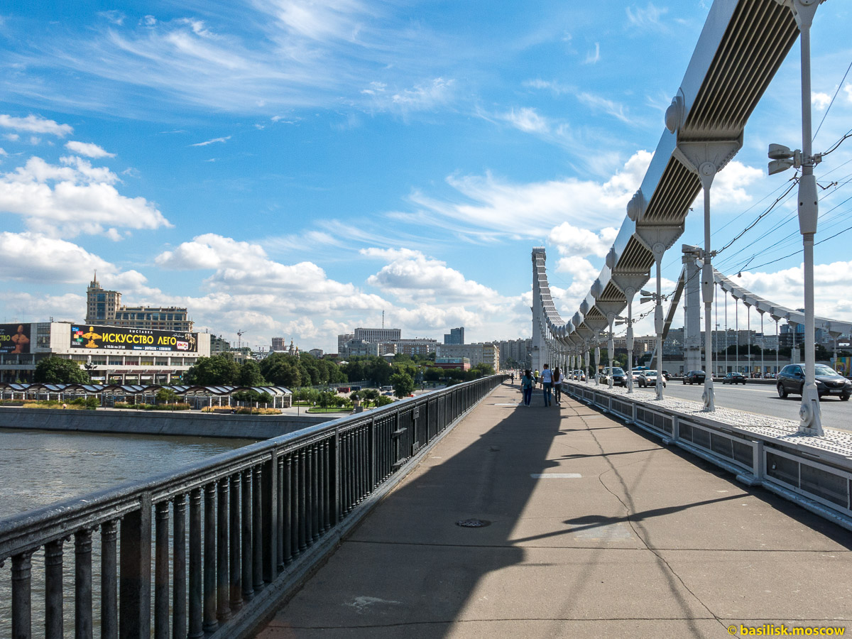 Крымский мост. Август 2017