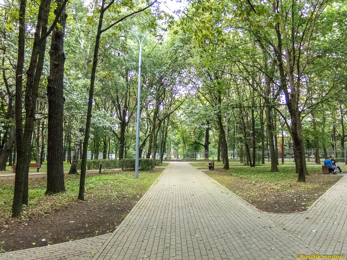 Парк Дубовая роща. Останкино. Москва. Август 2017