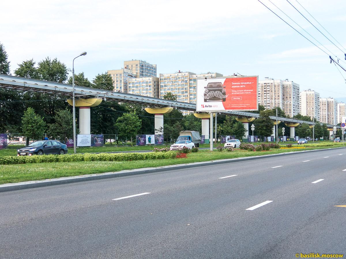 Улица Академика Королёва. Телецентр Останкино. Москва. Август 2017