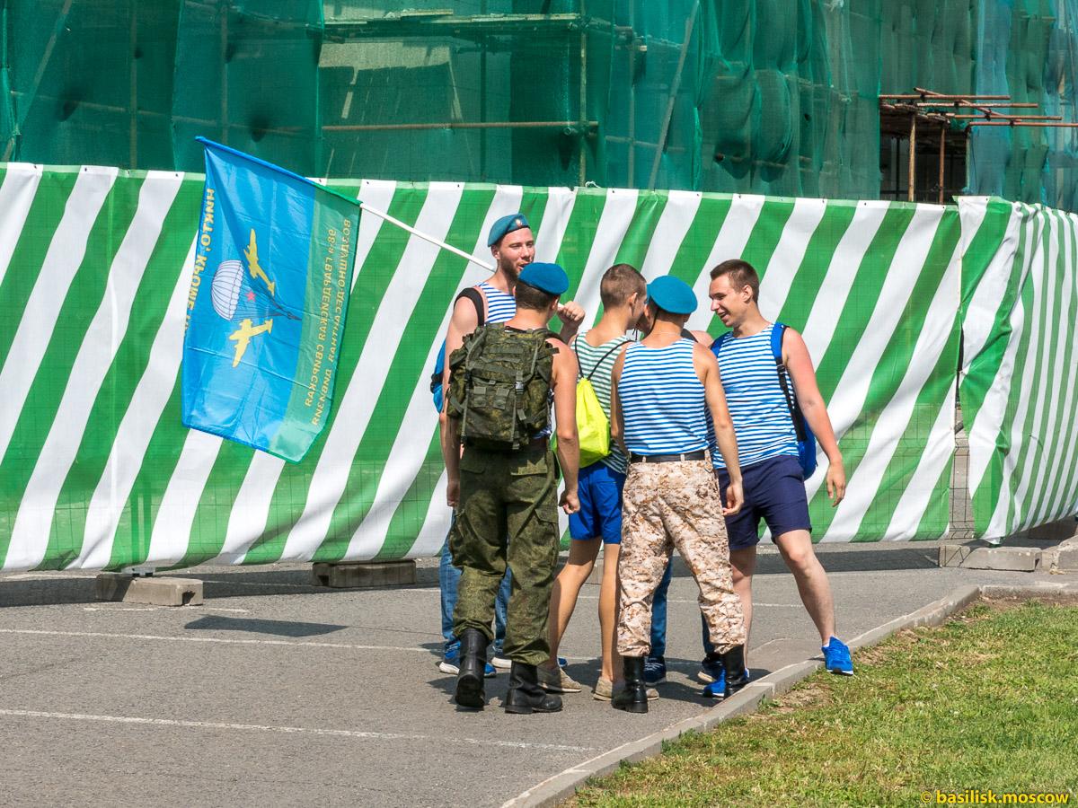 День ВДВ. Прогулка по ВДНХ. Москва. Август 2017