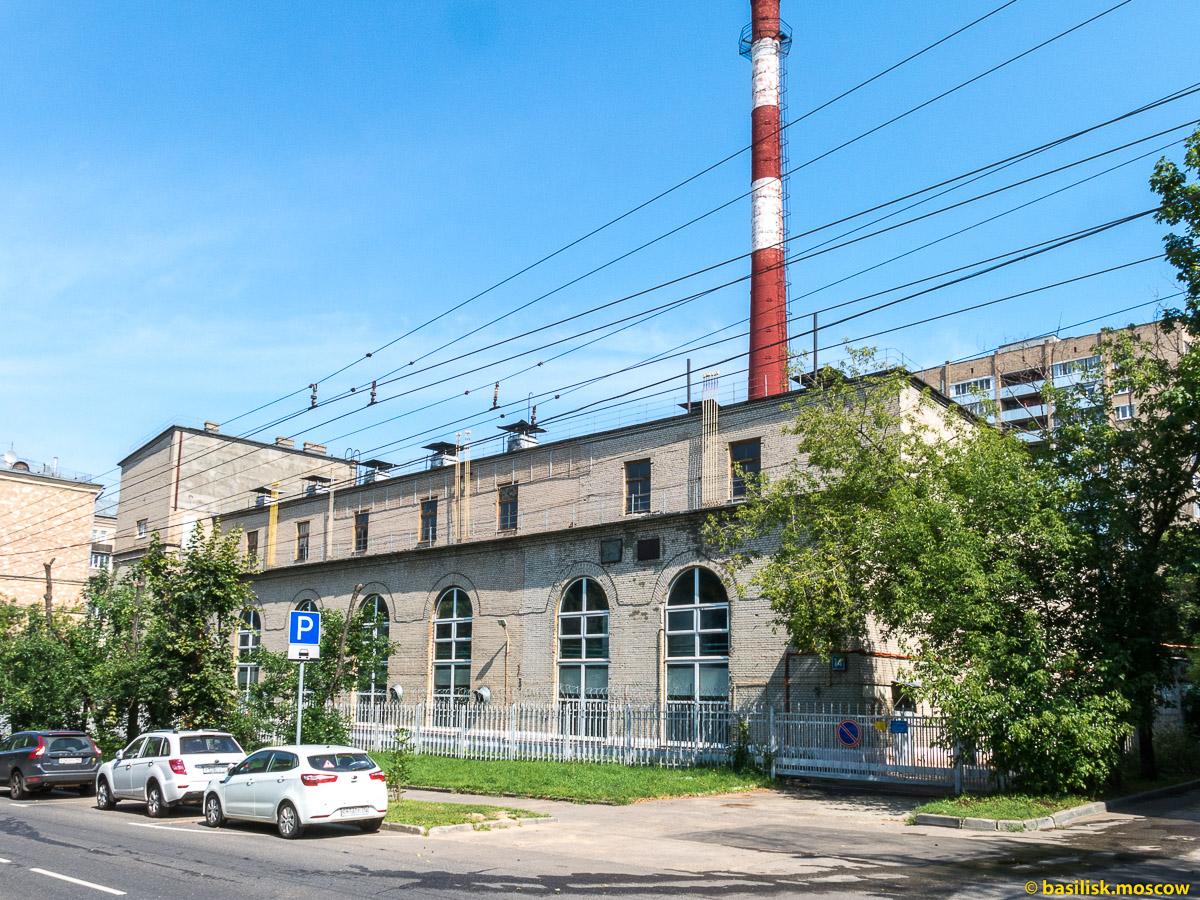 Район Останкино. Москва. Август 2017