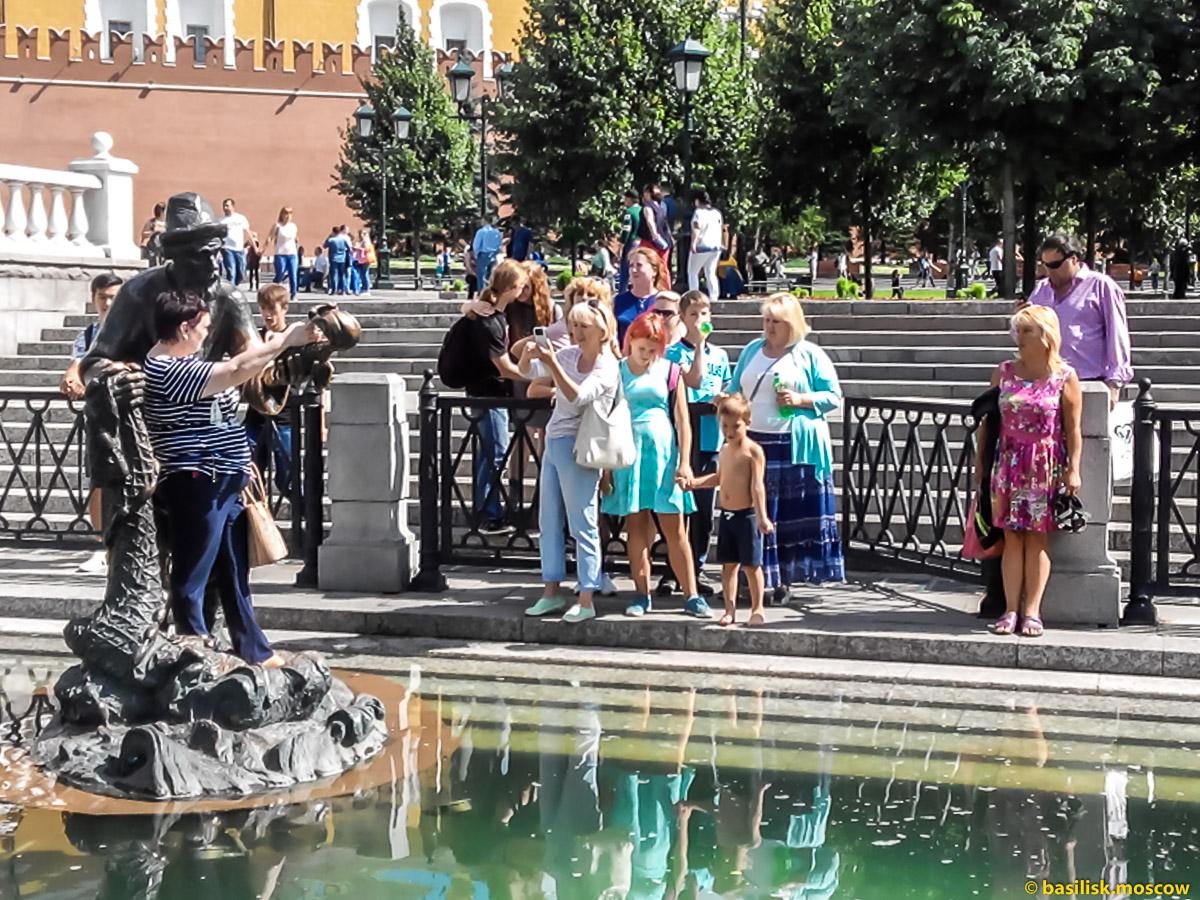 Александровский сад. Москва. Июль 2017