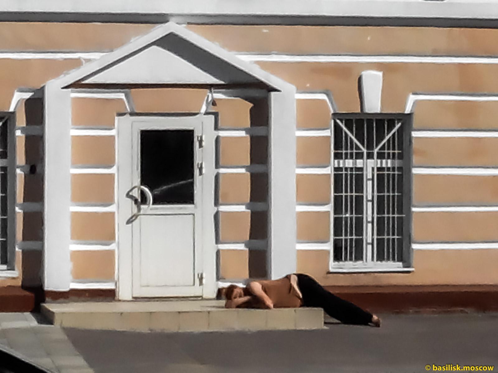 Москвичка отдыхает. Москва. Июль 2017