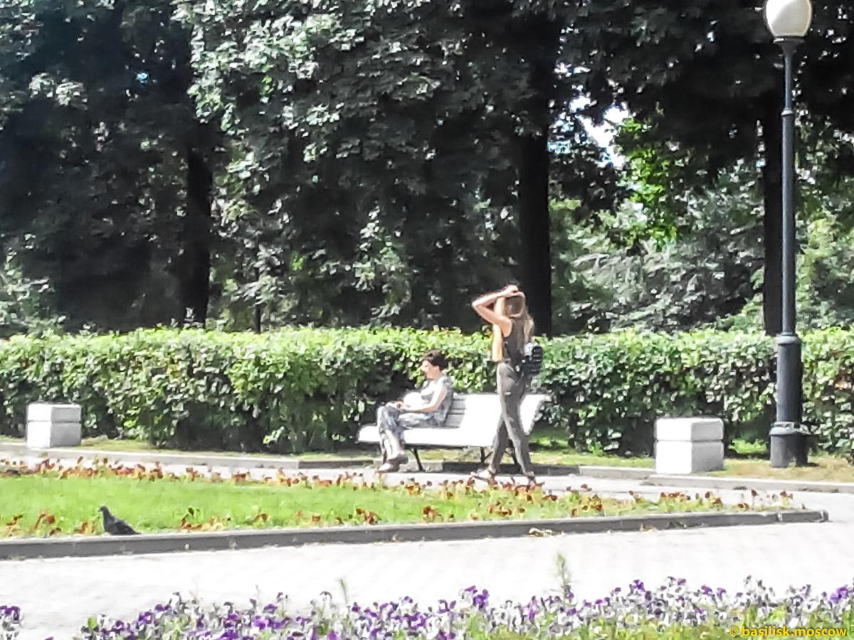 Болотная площадь. Александровский сад. Москва. Июль 2017