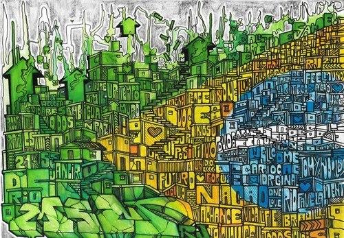 Граффити в Бразилии