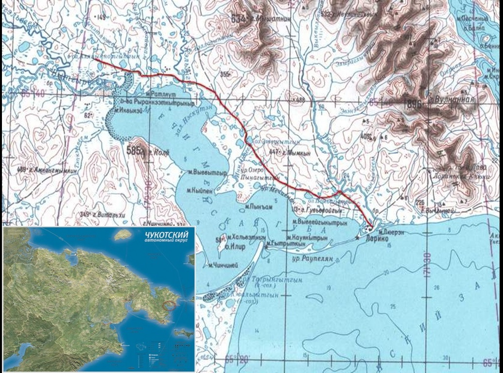 карта похода - 1
