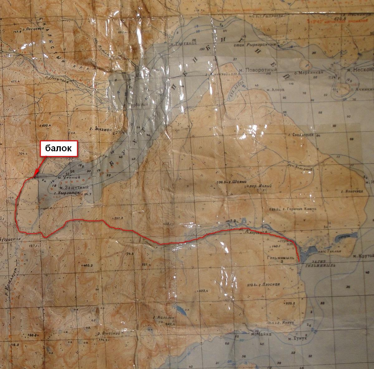 карта пенкигней