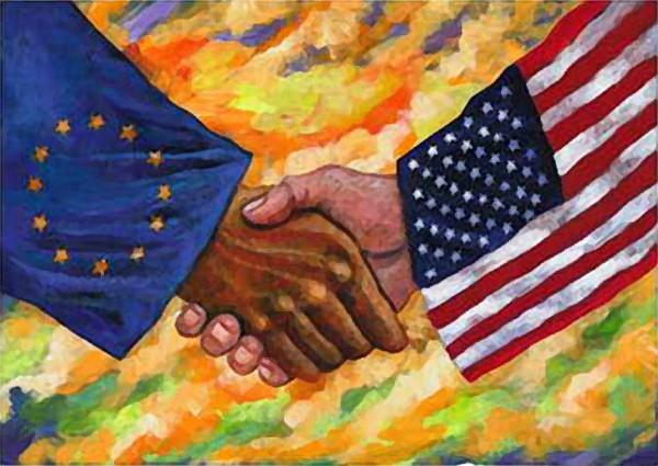 Европа США