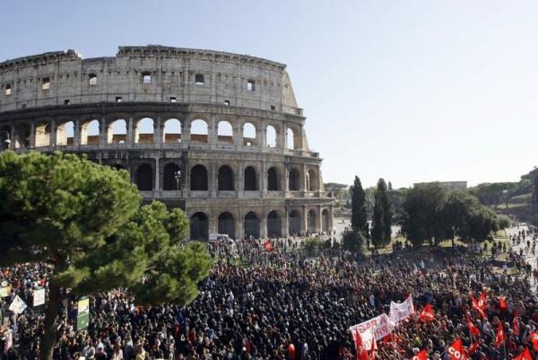 Антиреформенные манифестации в Италии.jpg