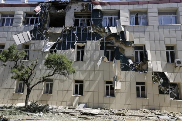 Порушенные здания