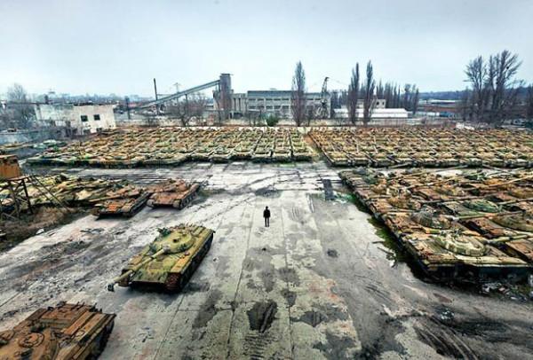 Старые танки