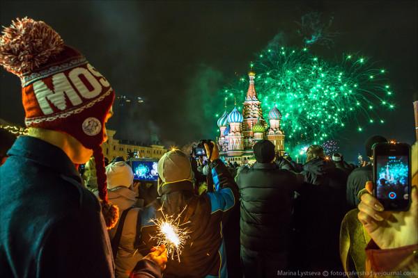 Новый год 2014 в Москве