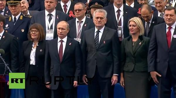 Путин и Николич