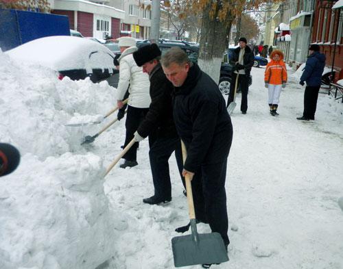 Снегопад 3
