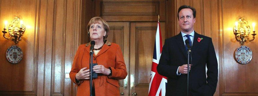 Меркель и Кемерон