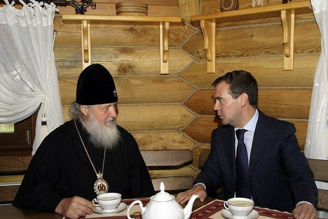Медведев и Кирилл
