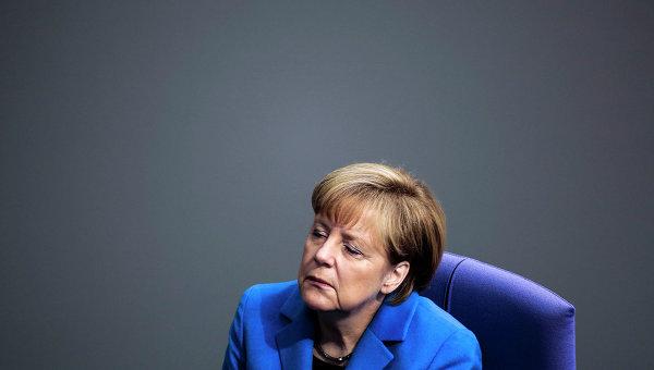 Меркель фрау