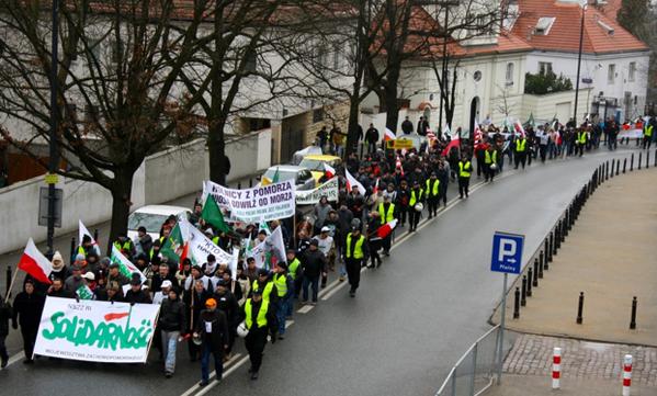 Шествие в Польше