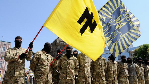 Каратели нацисты Азов