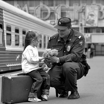 Милиция на вокзале