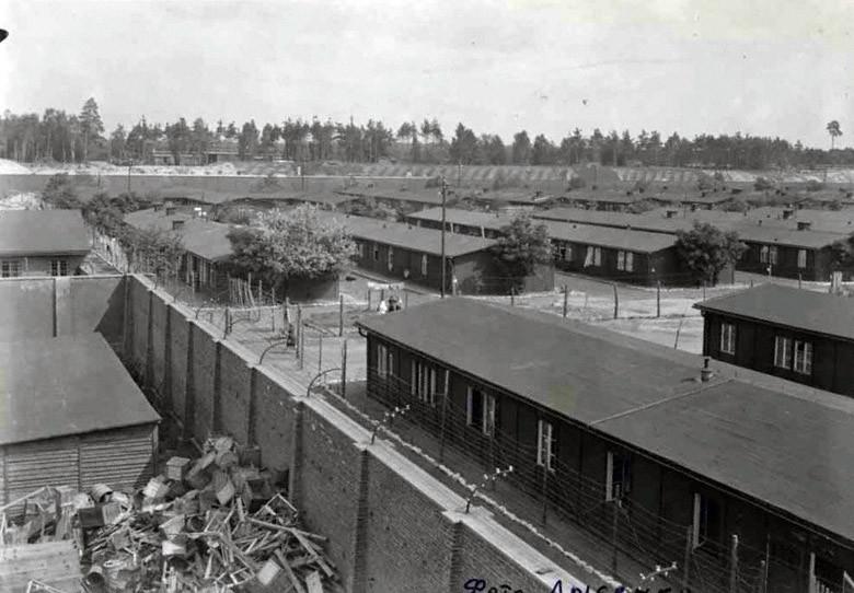 Вид концлагеря «Равенсбрюк»