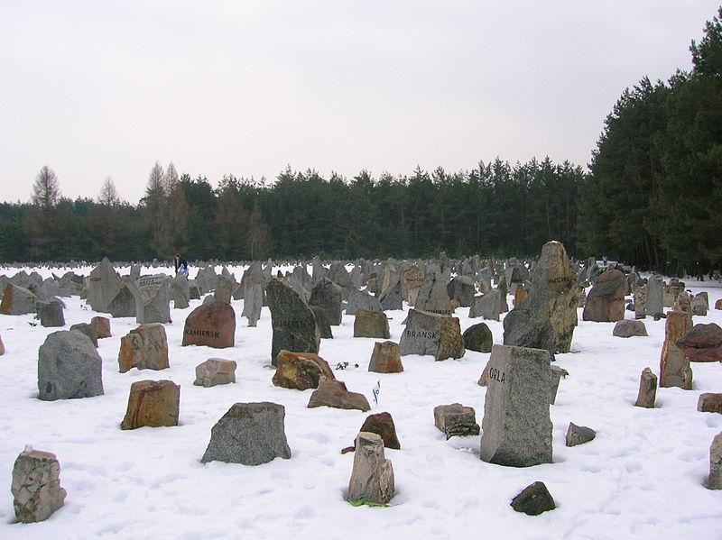 треблинка - надгробия