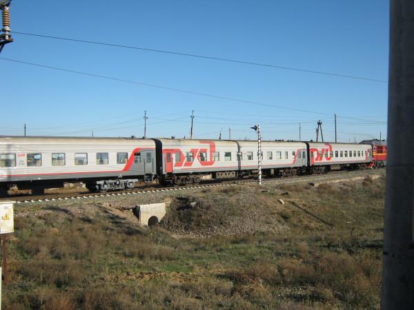 Поезд Москва-Камышин